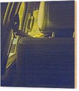Backseat Wood Print