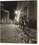 Backstreet Of Amersfoort  Wood Print