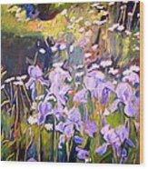 Backyard Garden IIi Wood Print