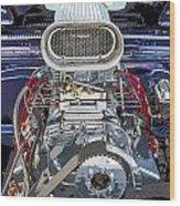 Bad Boy Blower Motor Wood Print
