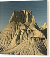 Badlands Hoodoo Wood Print