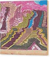 Badlands South Dakota Wood Print