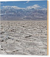 Badwater Basin - Death Valley Wood Print