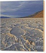 Badwater Basin Wood Print