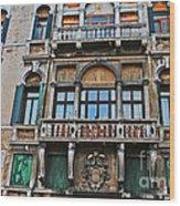 Baffo Balcony Wood Print