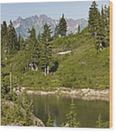 Bagley Lake - Washington Wood Print