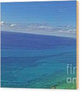 Bahama Colors Wood Print