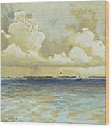 Bahama Island Light Wood Print