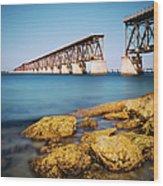 Bahia Honda State Park Florida Wood Print
