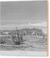 Bahia, Salvador, Brazil     Date 1846 Wood Print