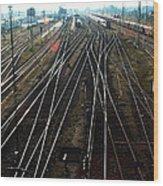 Bahnhof Cottbus Wood Print