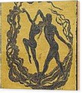 Baile Del Sol Wood Print
