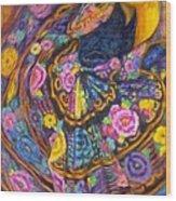 Baile En Las Flores  Wood Print