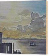 Bainbridge Ferry Wood Print