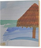 Baja Wood Print