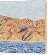 Baja Panorama Wood Print