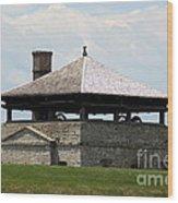 Bake House At Old Fort Niagara Wood Print