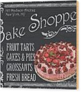 Bake Shoppe Wood Print