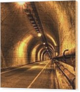 Baker Barry Tunnel Wood Print