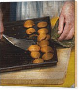 Baker - Food - Have Some Cookies Dear Wood Print