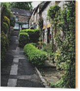 Bakewell Country Terrace Houses - Peak District - England Wood Print