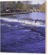 Bakewell Weir Wood Print