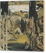 Bakst, L�on 1866-1924. Daphnis Et Wood Print by Everett