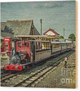Bala Lake Railway Wood Print