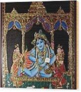 Balakrishna Wood Print by Jayashree