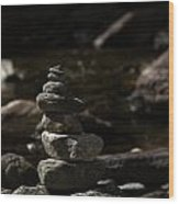 Balance In Nature Wood Print