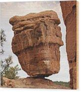Balanced Rock Wood Print