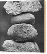 Balanced Rocks, Close-up Wood Print