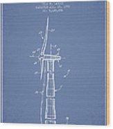 Balancing Of Wind Turbines Patent From 1992 - Light Blue Wood Print