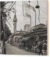 Balat Neighborhood In Istanbul Wood Print