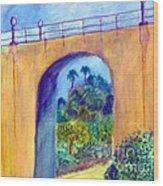 Balboa 163 Bridge Wood Print