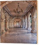 Balboa Park Arches Wood Print