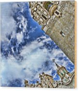 Balboa Park's California Tower By Diana Sainz Wood Print