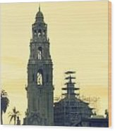 Balboa Tower  Wood Print
