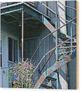 Balcony 1 Wood Print