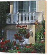 Balcony 3 Wood Print