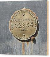 Baldwin Locomotive Wood Print