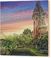 Bali 2 Wood Print