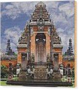 Bali Wood Print