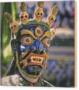 Bali Dancer 2 Wood Print