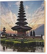 Bali Water Temple 2 Wood Print