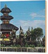 Bali Wayer Temple Wood Print