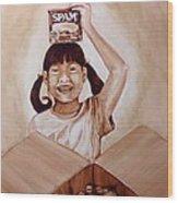 Balikbayan Box Wood Print