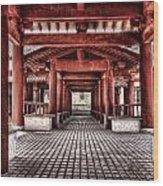 Balikun Xibo Temple Wood Print