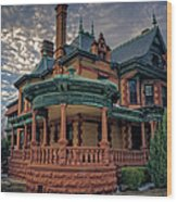 Ball Eddleman Mcfarland House Wood Print