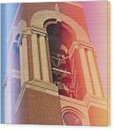 Ball State Bell Tower Wood Print